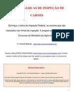 INSPEÇÃO DE CARNES