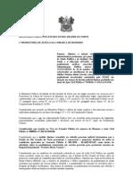 :RECOMENDAÇÃO LOTAÇÃO MÉDICOS HOSPITAL DA MULHER