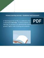 learning journal presentation