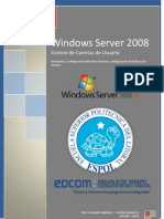 Contro de Cuentas de Usuario en Windows Server