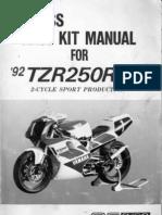 yamaha tzr250 3xv sp f3 sugo manual rh scribd com Yamaha TZ125 Yamaha RZ350