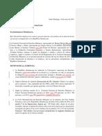 solicitud de audiencia tematica ejecuciones extrajudiciales en República Dominicana