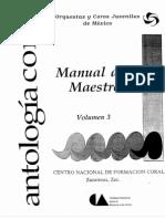 Manual del Maestro de Coro