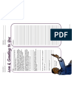 Martin Luther King, Jr. Letter Writing Template