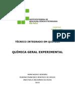 Apostila de Quimica Geral Experimental142152