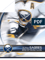 Buffalo Sabres Media Guide 2013