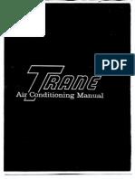 manual de airea acondicionado Trane