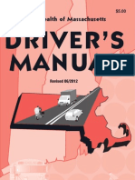 Massachusetts Driver's Manual - 2012-2013