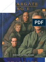 Star Gate SG1 Rule Book