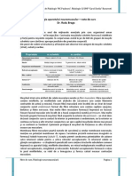 FIziologia aparatului neuromuscular