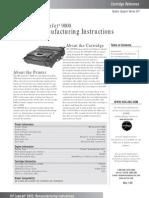 Remanufactira HP 9000 Toner