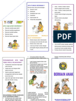 leaflet bermain anak