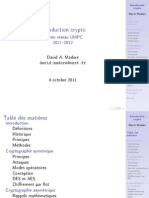 INF941 Intro Crypto Madore