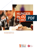 Hunger in Our Schools