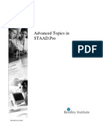 STAAD PRO TRAINING MANUAL