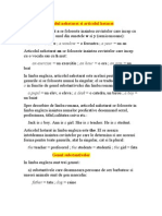 Gramatica Engleza Incepatori