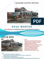 Copy of Presentasi Dmgr Desa Mariuk