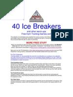 40 aktiviti IceBreaking