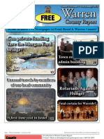 The Late January, 2013 edition of Warren County Report