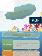 Discussion Text