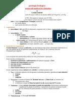 Anemie, Ipossiemia, Equilibrio Acido-base, Equilibrio Idro-elettrolitico