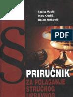 Priručnik za polaganje stručnog upravnog ispita u institucijama BiH