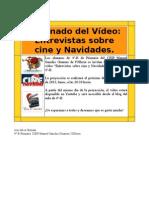 Invitación a visionar el vídeo de las entrevistas CINE y NAVIDAD
