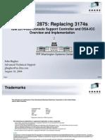 Replacing 3174