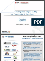 Oracle AME Functionality Guide