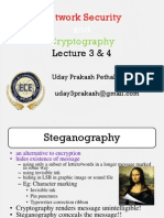 Network Security and Cryptography Lecture 3&4