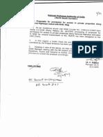 Guidelines NHAI Private Properties