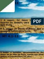 leitura Mt 4.1-11