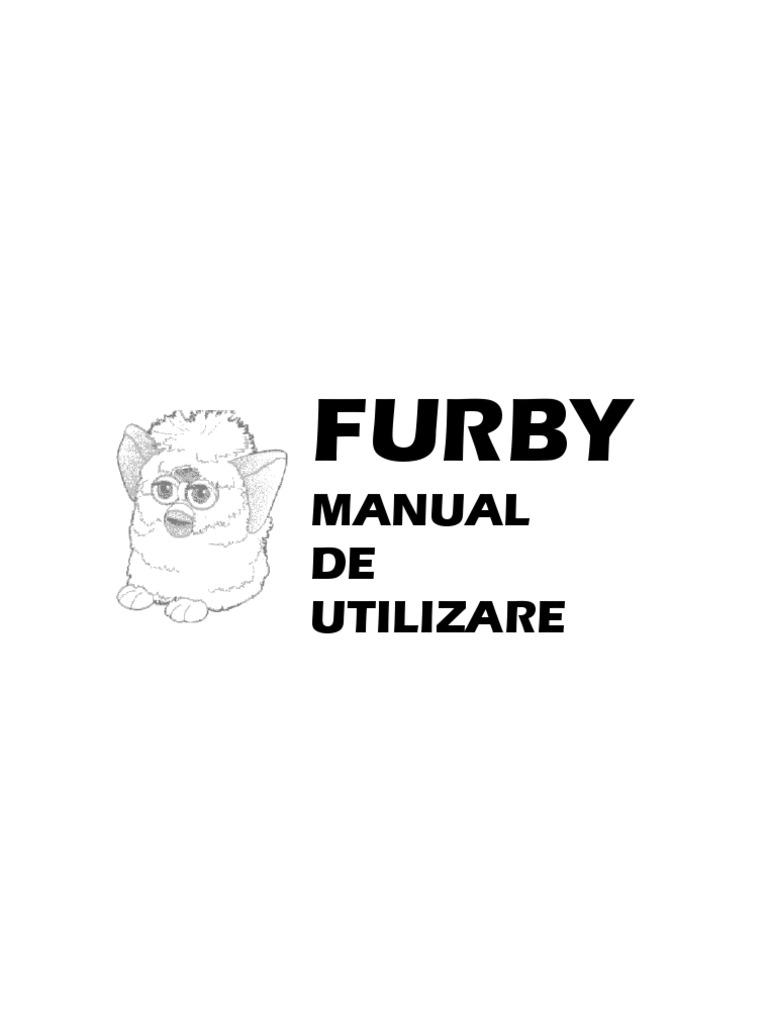 Furby-Manual de Utilizare