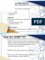 Briefing ITB 2013