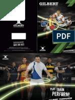 Gilbert Teamwear Brochure