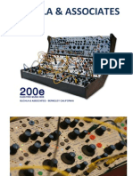 Buchla & Associates Catalogue 2010