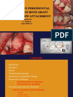 non-bone graft associated regenerative periodontal therapy
