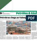 Petrobras chega ao Valongo em 1 ano