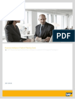 SAP BusinessObjects BI Planning Guide