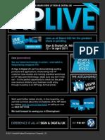HP Sign & Display invitation eDM