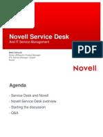 Novell Service Desk