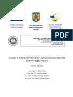 Analiza Politicilor Publice Si- Evaluarea Programelor in AP