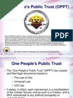 One People Public Trust - Slide