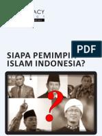 Siapa Pemimpin Islam Indonesia
