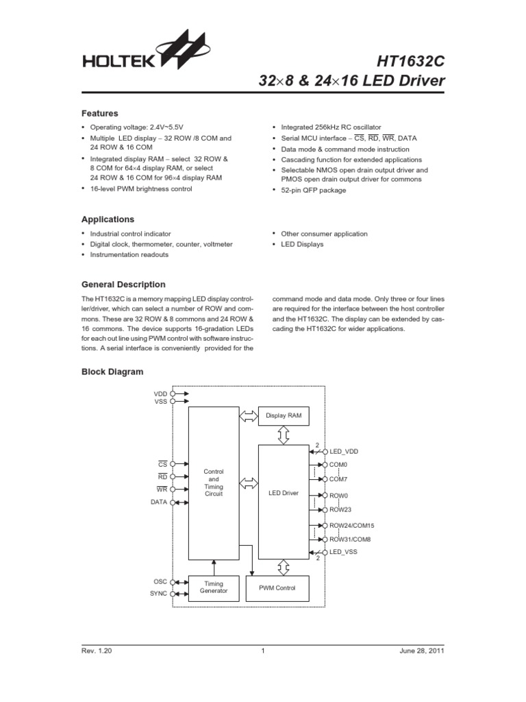 Datasheet Led Driver 3v Circuit