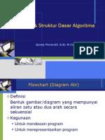 Flowchart & Struktur dasar algoritma.ppt