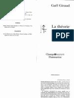 (Etudes Traditionnelles) - La Theorie Des Jeux- G Giraud- Flammarion 2000