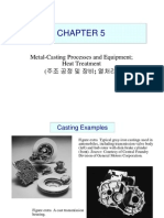Metal-Casting Processes and Equipment; Heat treatments