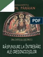 Din ospăţul credinţei vol. 1- Pr. Teofil Părăian