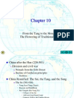 World History to 1500 A.D.-Ch10-China